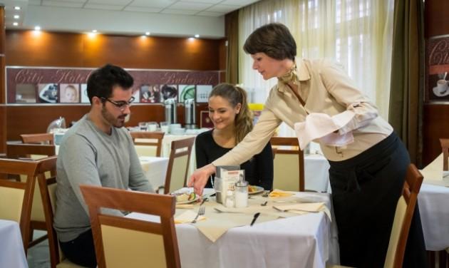 Szállodai reggeliztető, City-Hotel Budapest