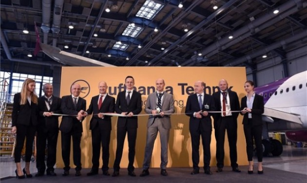 Repülőgépmérnöki központot adott át a Lufthansa Technik Budapesten