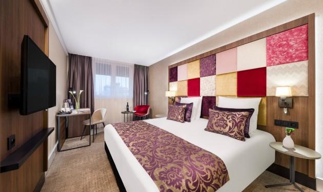Fiatalos szobák a megújult Mercure Koronában