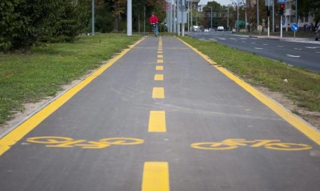 Kerékpáros-fejlesztések Kaposváron