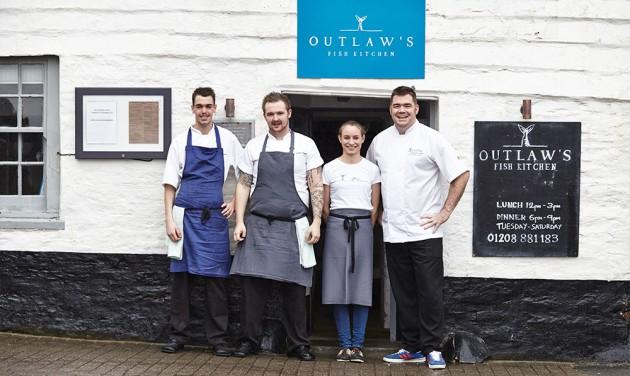 Egy cornwalli halvendéglő lett a britek legjobb étterme