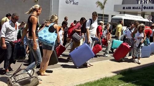 Csökkent a külföldre utazó orosz turisták száma idén