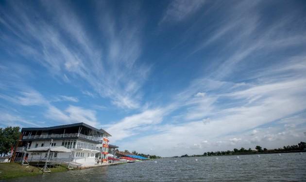 Átadták a felújított Nemzeti Evezős és Kajak-Kenu Olimpia Központot