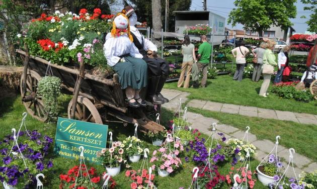 Szent György-napi vásár és virágünnep Szombathelyen
