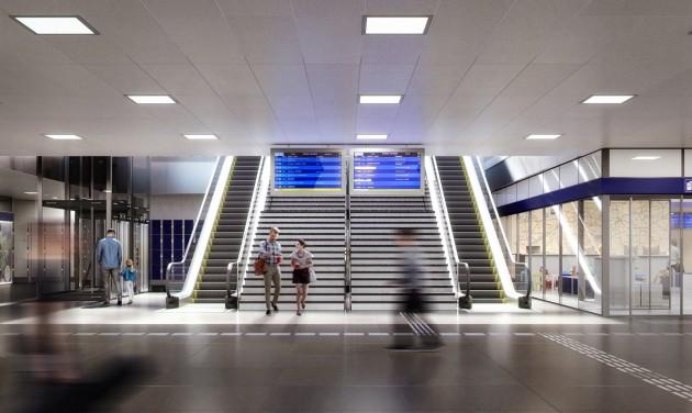 Jövőre új utascentrumot kaphat a Keleti