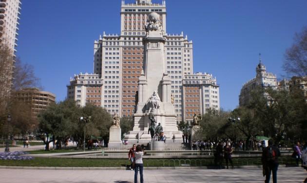 Több zöldet akarnak a madridiak a Plaza de Espana átalakításakor