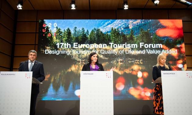 Két napig Bécs az európai turizmus központja