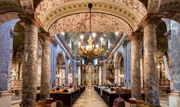 Megújult a budapesti Egyetemi templom