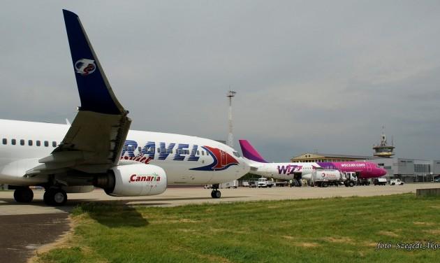 Rekord nyári forgalom a Debrecen Airporton