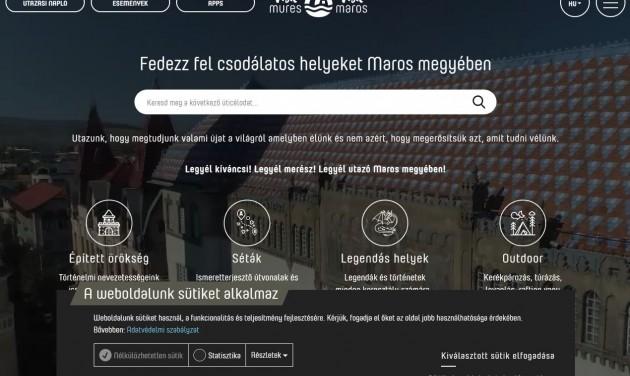Turisztikai applikációt és weboldalt kapott Maros megye