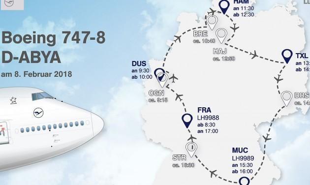 Körutazással mutatkozik be az új Lufthansa-dizájn