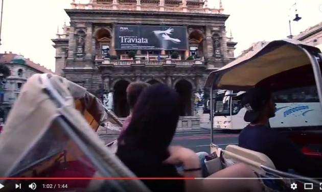 Budapest tuk-tukkal – VIDEÓ