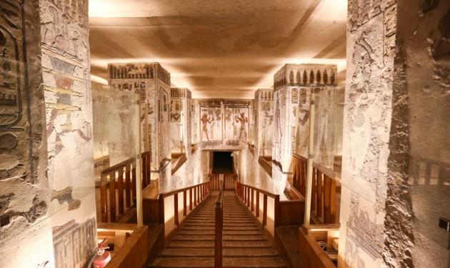 Virtuális barangolás a thébai nekropoliszban