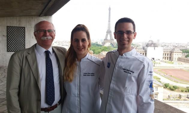 Nemzetközi szakácsversenyen remekeltek a BGE hallgatói