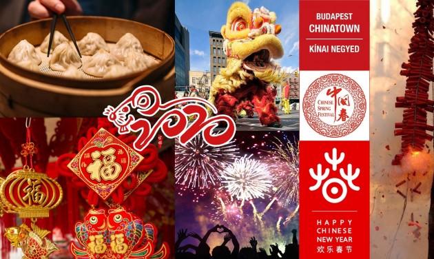 Tavaszünnep Fesztivál a budapesti kínai negyedben (elmarad!)