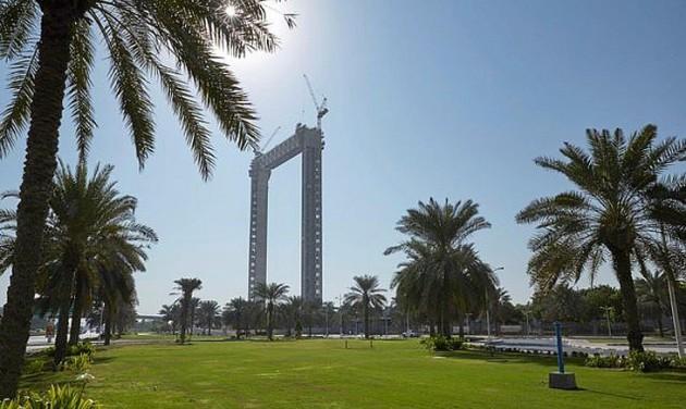 150 méter magas keret lesz Dubai új szimbóluma