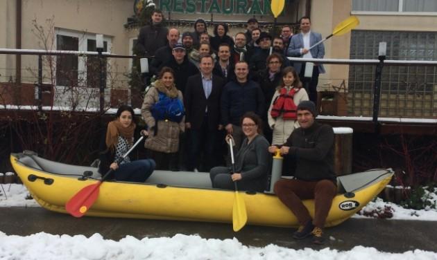 Elindult az ökoturisztikai Bike&Boat szlovák-magyar projekt