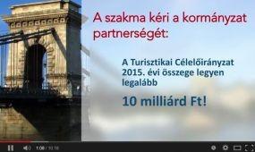 Mi a szakma kívánsága 2015-re? - Lobbifilm a turizmusról