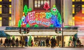 Nem tévedés: karácsonyi vásár nyílt a londoni Selfridges-ben