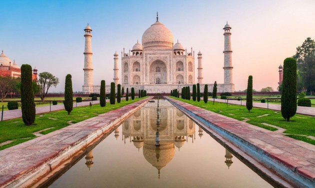 Hat hónap után újra látogatható a Tadzs Mahal