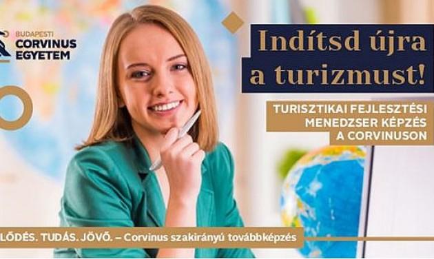 Ösztöndíjas, levelező rendszerű turisztikai fejlesztési menedzser/szakközgazdász képzés a Corvinuson