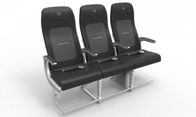 Új ülés a Lufthansa csoport Airbus A320-as flottájában