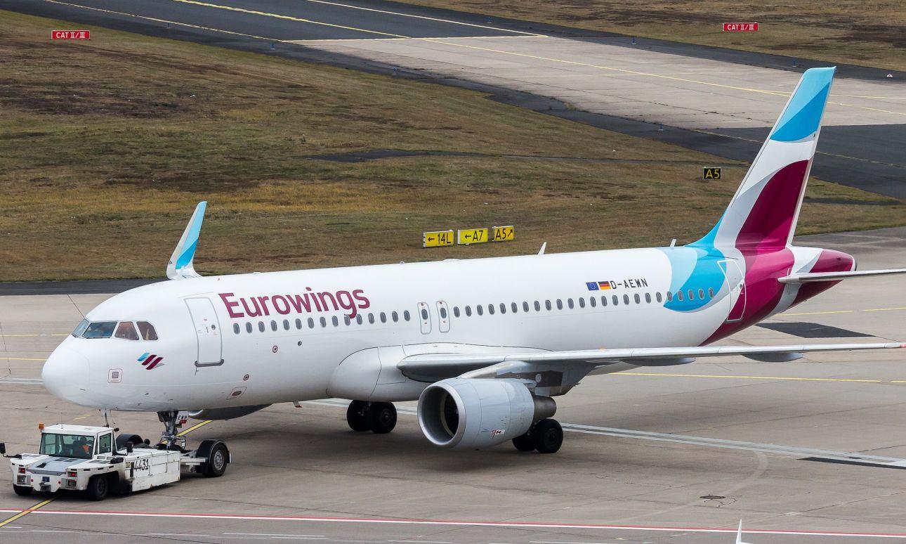 ff4fd2251a48 Az Air Berlin flottájából vásárolna Eurowings - Turizmus.com