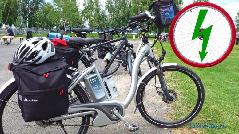 b16bba79ec5b Elektromos kerékpárokat töltő hálózat létesült a Balatonnál ...
